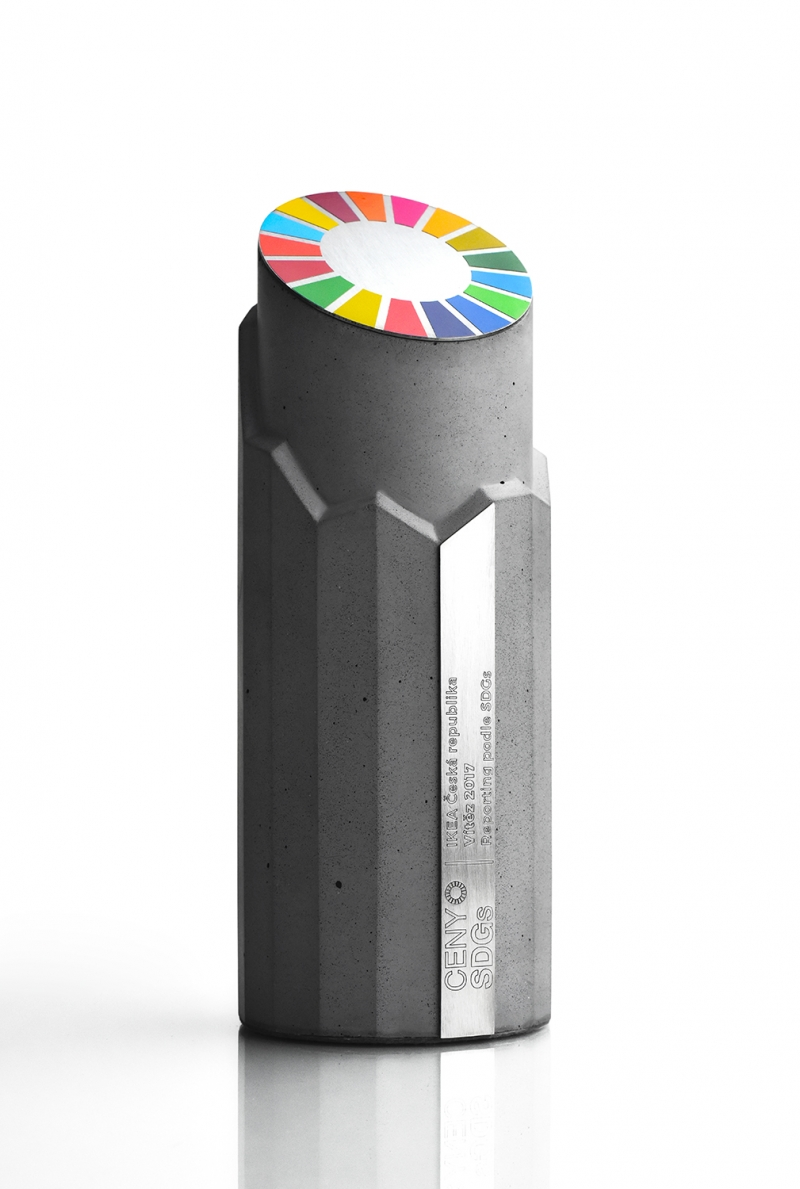 TROPHY SDGs  Sustainable Development Goals - limited edition