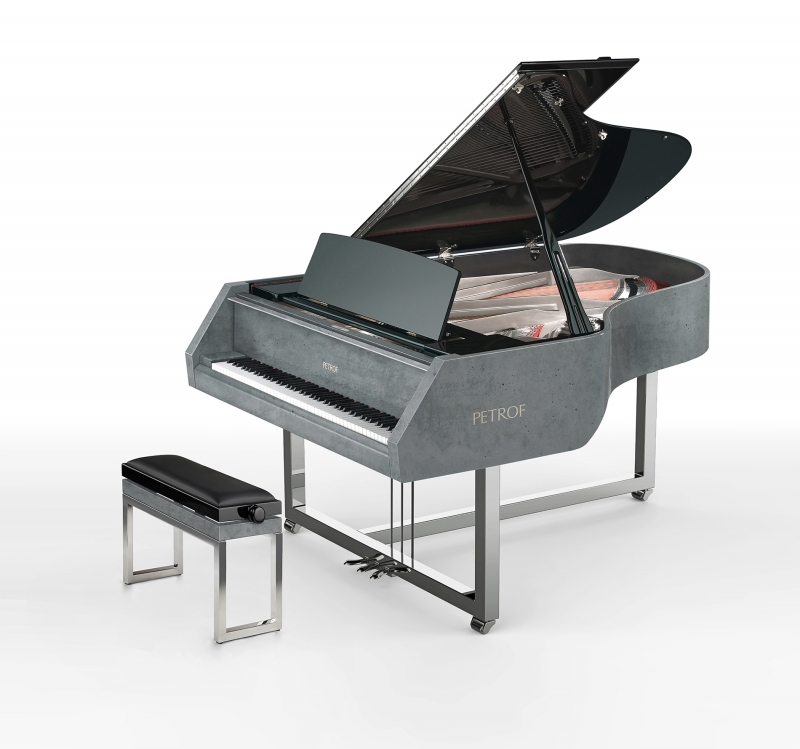 GRAND PIANO GRAVELLIconcrete piano - product design