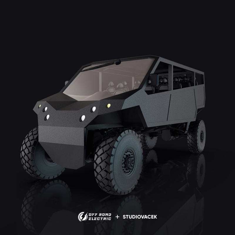 Off Road Electric monster truck - Limited