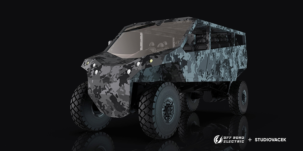 Off Road Electric monster truck